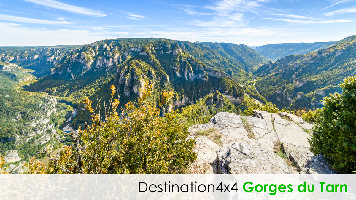 Destination 4x4 Gorges du Tarn