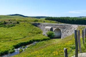 Le Pont des Nègres sur l'Aubrac